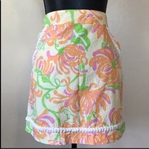 Lilly Pulitzer Marti Mini Skirt with Pockets